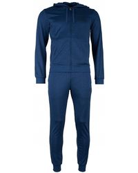 EA7 - Tran Core Id Hooded Poly Tracksuit - Lyst