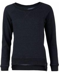 UGG - Morgan Zip Detail Fleece Sweat - Lyst