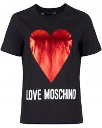 Love Moschino - Love Heart Logo - Lyst