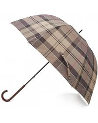 Barbour - Tartan Ladies Umbrella - Lyst