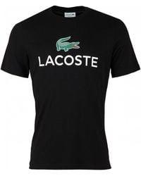 Lacoste - Big Logo Crew Neck - Lyst