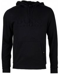 BOSS - Soody Pullover Hooded Sweat - Lyst