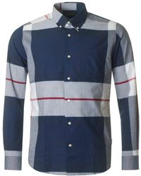 Barbour - Kelso Large Check Tailored Fit Shirt - Lyst