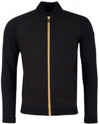BOSS Athleisure - Zenny Jersey Front Hybrid Full Zip Knit - Lyst