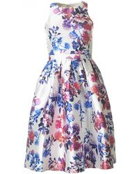 Forever Unique - Floral Fifties Style Dress - Lyst