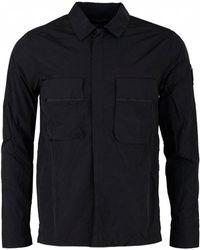 Marshall Artist - Liquid Bellow Pocket Overshirt - Lyst