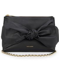 Ted Baker Darnna Soft Knot Detail Clutch Bag