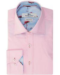 Claudio Lugli | Flamingo Print Shirt | Lyst