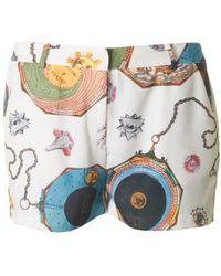 Silvian Heach - Zodiac Print Shorts - Lyst