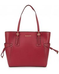 Michael Kors - Voyager East West Leather Tote - Lyst