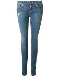 True Religion - Halle Super T Denim Jeans - Lyst