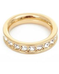 Ted Baker - Claudie Narrow Swarovski Crystal Ring - Lyst