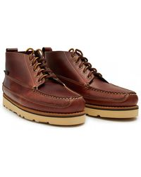 G.H.BASS - Camp Moc Leather Shoes - Lyst