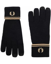 Fred Perry - Twin Tipped Gloves - Lyst