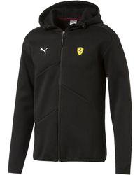 PUMA - Ferrari Men's Hooded Sweat Jacket - Lyst