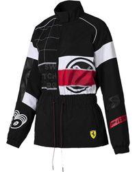 PUMA - Scuderia Ferrari Street Women's Jacket - Lyst