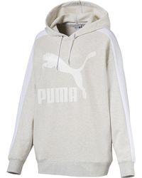 PUMA - Classics T7 Logo Women's Hoodie - Lyst