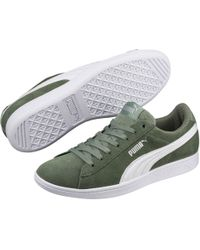 Lyst - Puma Vikky Softfoam Mid Women s Sneakers in Gray facf00819
