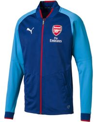 PUMA - Arsenal Fc Stadium Jacket - Lyst