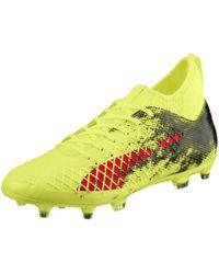 1bda76fb7cb Lyst - Puma Future 18.1 Netfit Fg ag Men s Soccer Cleats in Black ...