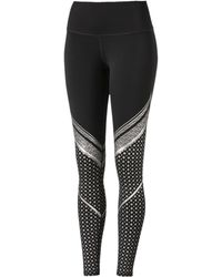 PUMA - Active Training Women's Everyday Train Graphic Tights - Lyst