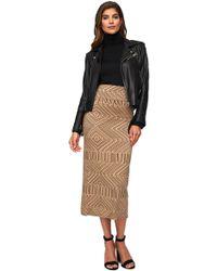 Rachel Pally - High Waisted Convertible Skirt - Black Optic - Lyst
