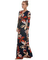 f93e160c849 Rachel Pally - Long Sleeve Full Length Caftan - Pop Floral - Lyst