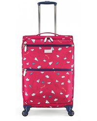 Radley - Paper Trail Medium Four Wheel Suitcase - Lyst