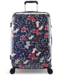 Radley - Speckle Dog Medium Four Wheel Suitcase - Lyst