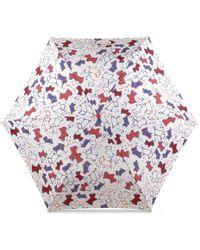 Radley | Speckle Dog Mini Telescopic Umbrella | Lyst