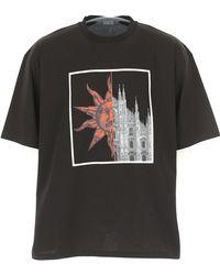 Fausto Puglisi - T-shirt Homme Pas cher en Soldes - Lyst
