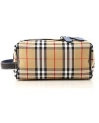 Burberry - Toiletry Bags - Lyst