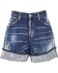 DSquared² - Shorts para Mujer - Lyst