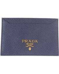 9a20baa5f9 Portafogli e portamonete da donna di Prada - Lyst