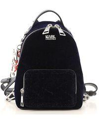 Karl Lagerfeld - Backpack For Women - Lyst