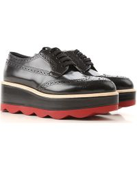 Prada - Brogues Oxford Shoes On Sale - Lyst