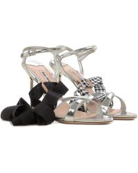 Miu Miu - Sandals For Women On Sale In Outlet - Lyst