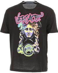 Versace - T-Shirt Uomo In Saldo - Lyst