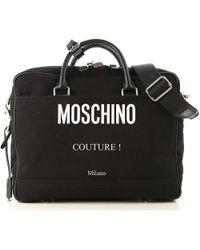 Moschino - Bolso Tote Bag Baratos en Rebajas - Lyst