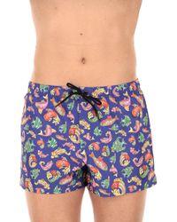 Versace - Swim Shorts Trunks For Men On Sale - Lyst