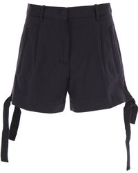 Moncler - Shorts For Women On Sale - Lyst