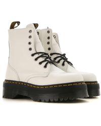 12b6ecfa9ce54 Dr. Martens '1460' Boots in Metallic - Lyst