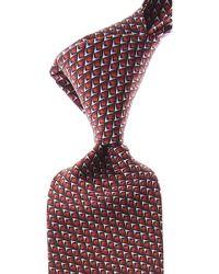 Lanvin Corbatas Baratos en Rebajas - Rojo