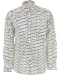 Prada - Camicia Uomo In Outlet - Lyst