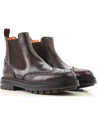 Santoni - Chelsea Boots For Men On Sale - Lyst