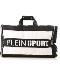 6cbf30199e Philipp Plein Logo Print Wash Bag in Black for Men - Lyst