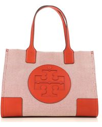 Lyst - Tory Burch Michelle Tote in Red 070867079d04d