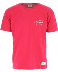 Tommy Hilfiger - T-Shirts für Herren - Lyst