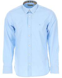 Burberry - Camisa de Hombre - Lyst