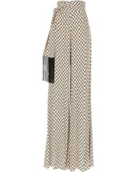 Elisabetta Franchi - Pants For Women On Sale - Lyst